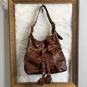 Kooba • Carla distressed leather bag